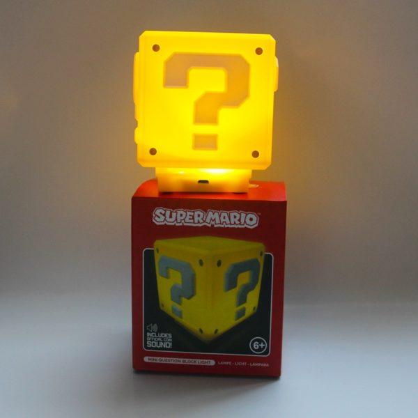 Lampe LED en Forme de Cube Super Mario. 2