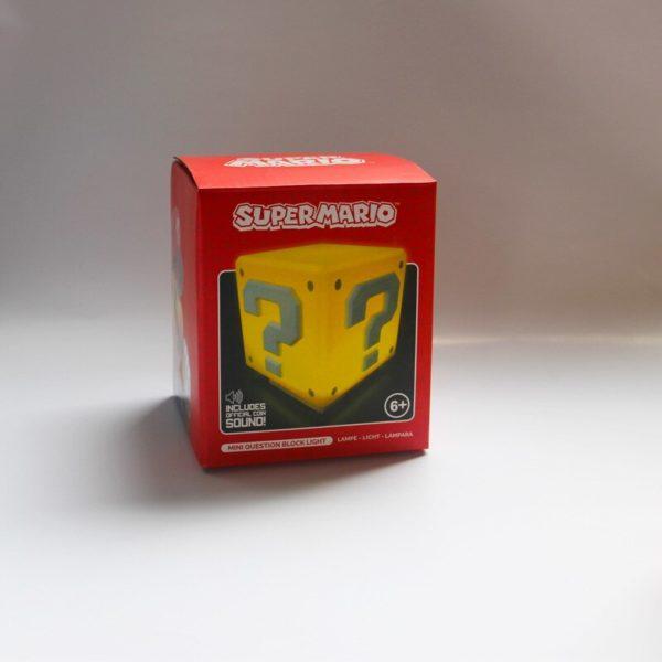 Lampe LED en Forme de Cube Super Mario. 6