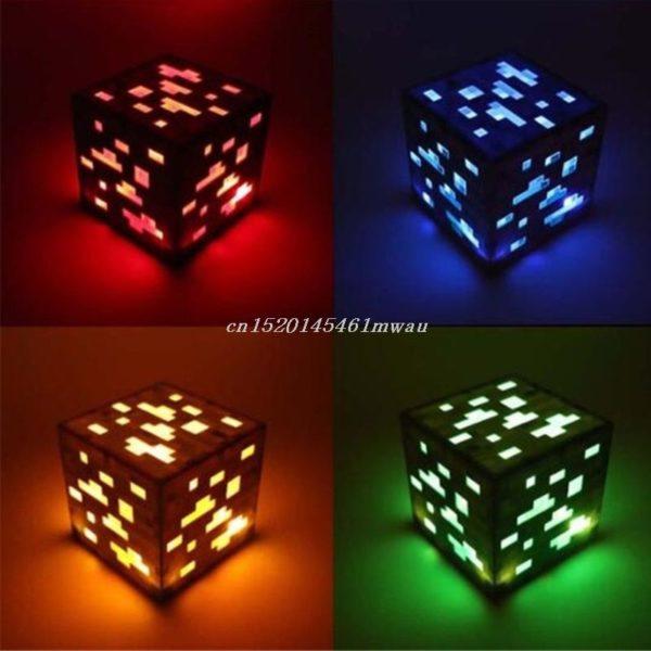 Cube Veilleuse LED.
