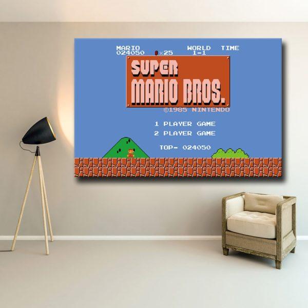 Art  Murales Super Mario Bros