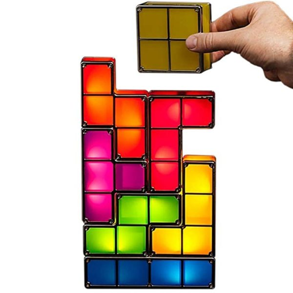 Veilleuse LED Tetris