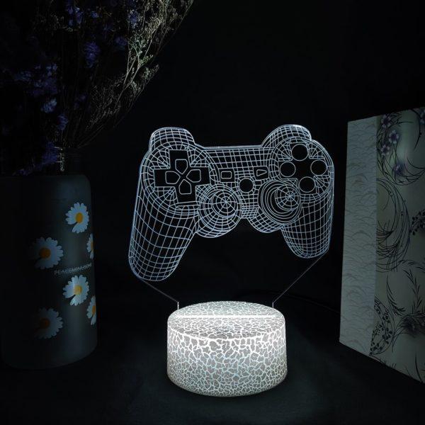 Lampe de Vision 3D avec poignée et capteur tactile. 6
