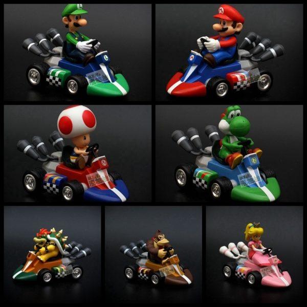 Figurines Super Mario Kart