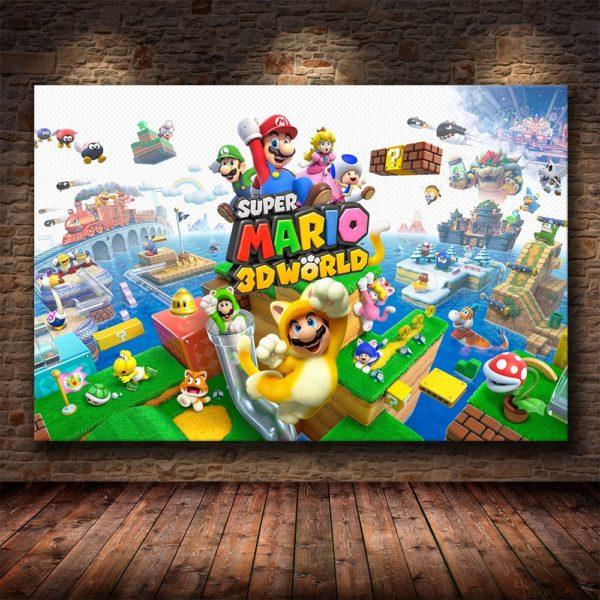 Art  Murales Super Mario Bros 2