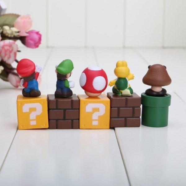 Figurines Mario Bros 5 pièces 2