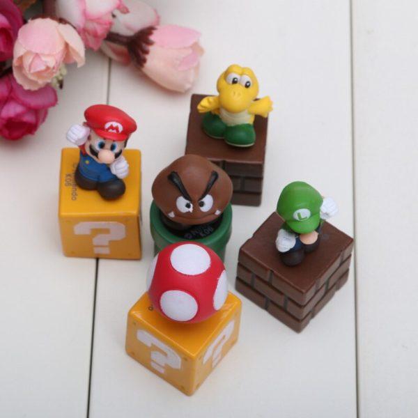 Figurines Mario Bros 5 pièces 6