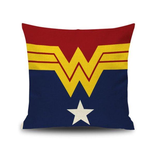Housse de coussin avec Emblème Super-Héros. 3