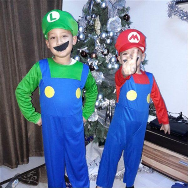 Costume Cosplay de  Mario et Luigi  5