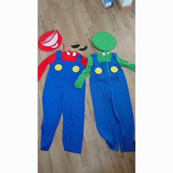 Costume Cosplay de  Mario et Luigi  6