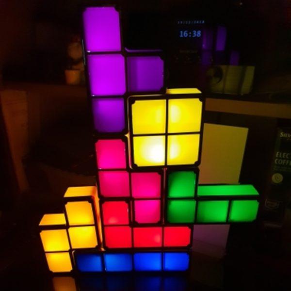 Veilleuse LED Tetris  5
