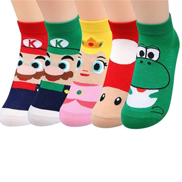 Chaussettes Super Mario Bros pour Enfants 6