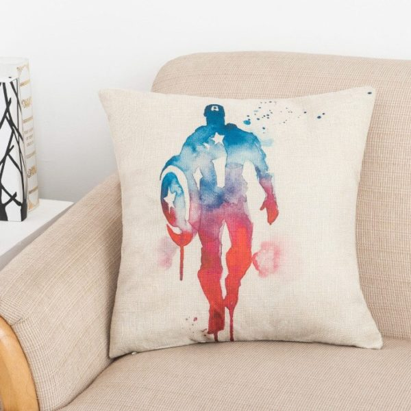Housse de coussin Style Super héros. 6