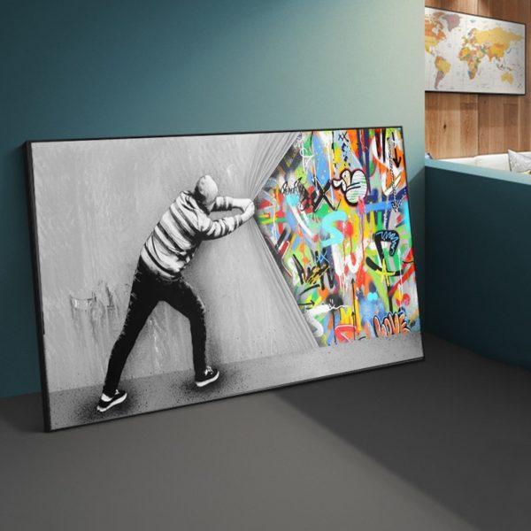 Art Mural avec Style Graffiti 4