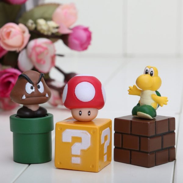 Figurines Mario Bros 5 pièces 5