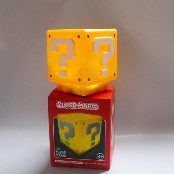 Lampe LED en Forme de Cube Super Mario. 4