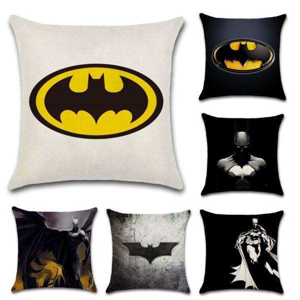 Housse de Coussin motif Batman.