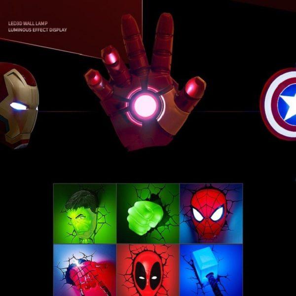 Veilleuse LED Avengers  2