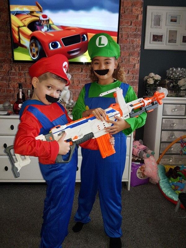 Costume Cosplay de  Mario et Luigi  2