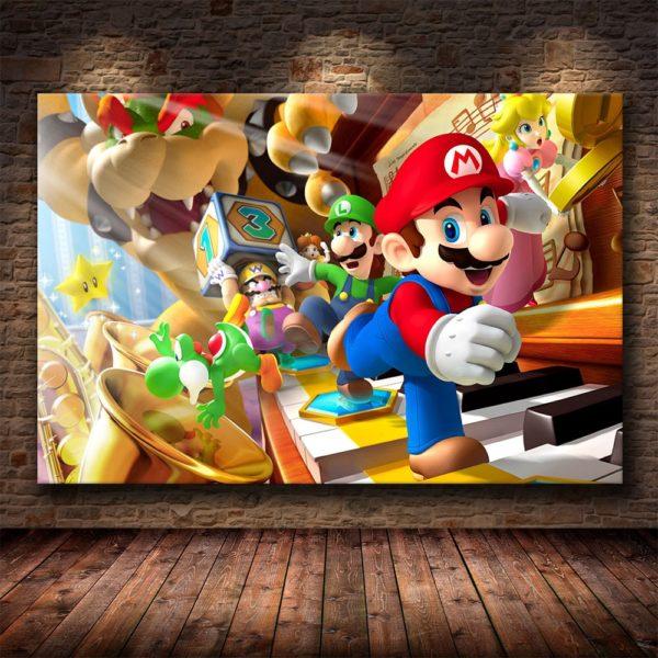 Art  Murales Super Mario Bros 4
