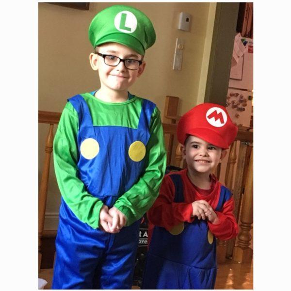 Costume Cosplay de  Mario et Luigi