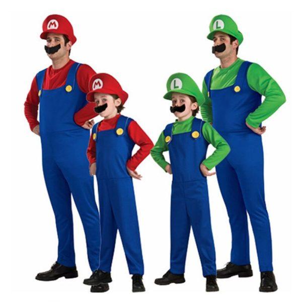 Costume Cosplay de  Mario et Luigi  3