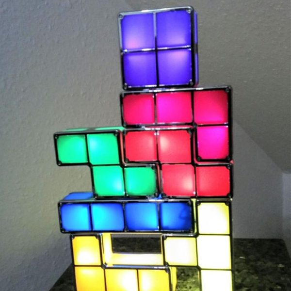 Veilleuse LED Tetris  3