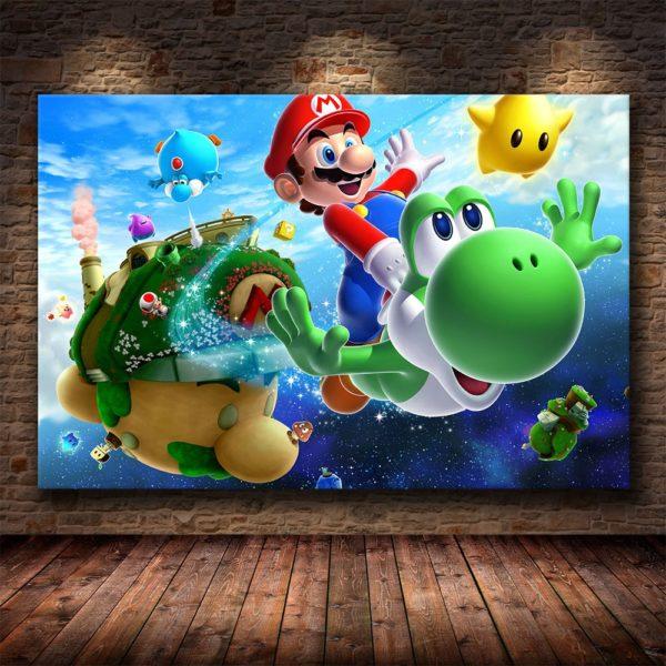 Art  Murales Super Mario Bros 3