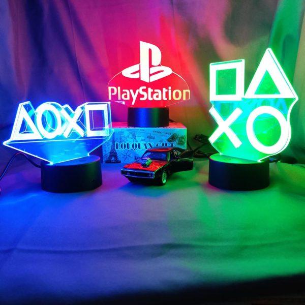 Décor D'éclairage LED spéciale jeu.