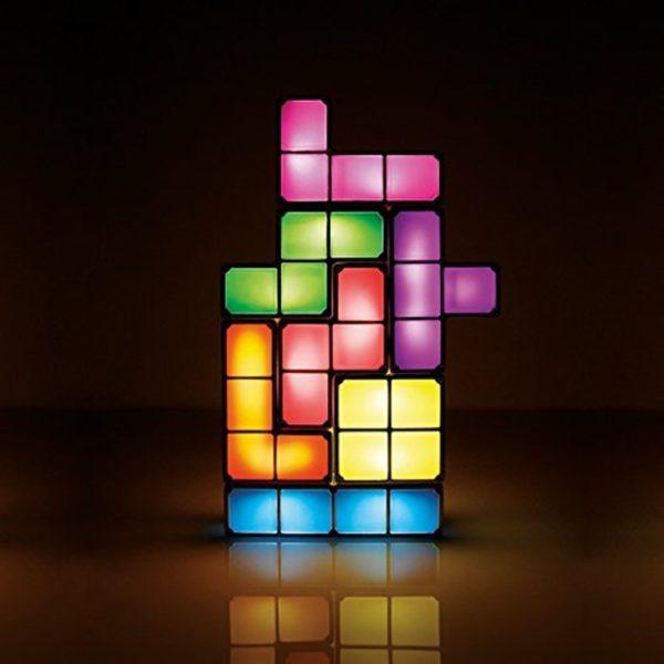 Veilleuse LED Tetris  2