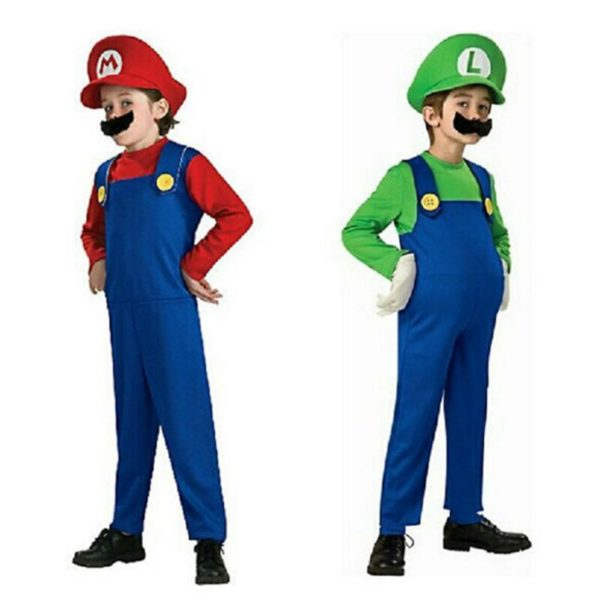 Costume Cosplay de  Mario et Luigi  4