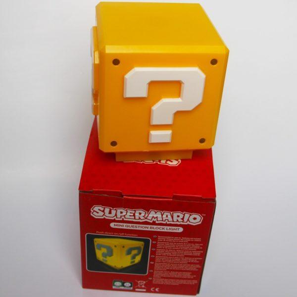 Lampe LED en Forme de Cube Super Mario. 5