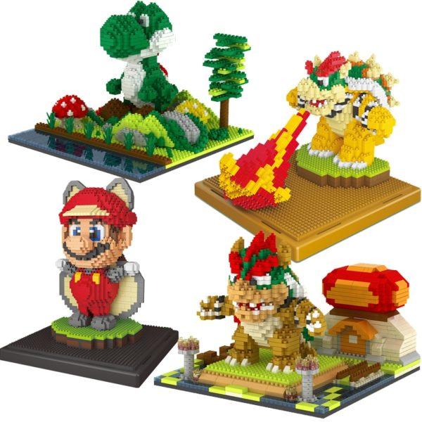 Mini Blocs de Construction Mario Bros