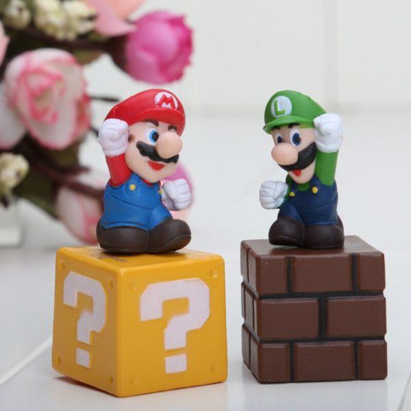 Figurines Mario Bros 5 pièces 4